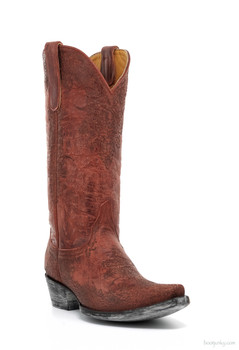 "L1999-3-SS OLD GRINGO HELECHO 13"" RED COWGIRL BOOTS"