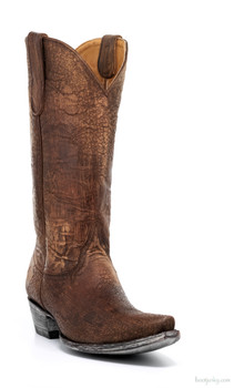 "L1999-4-SS OLD GRINGO HELECHO 13"" DISTRESSED BRASS COWGIRL BOOTS"