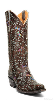 "L2480-2-SS OLD GRINGO DRAGON FLY 13"" EMBROIDERED COWGIRL BOOTS"