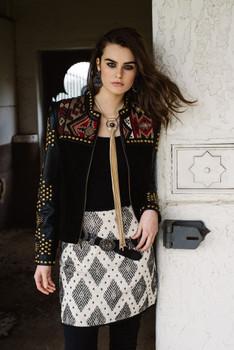 Double D Ranchwear La Mari Moreno Skirt