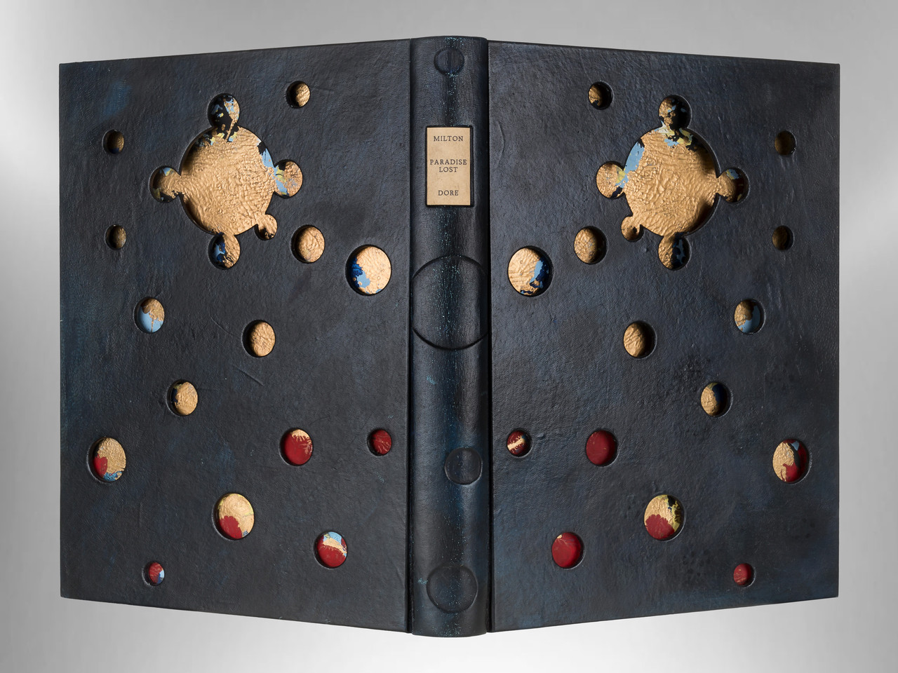 Paradise Lost Illustrated by Gustave Dore, Unique Binding by Richard Tuttle