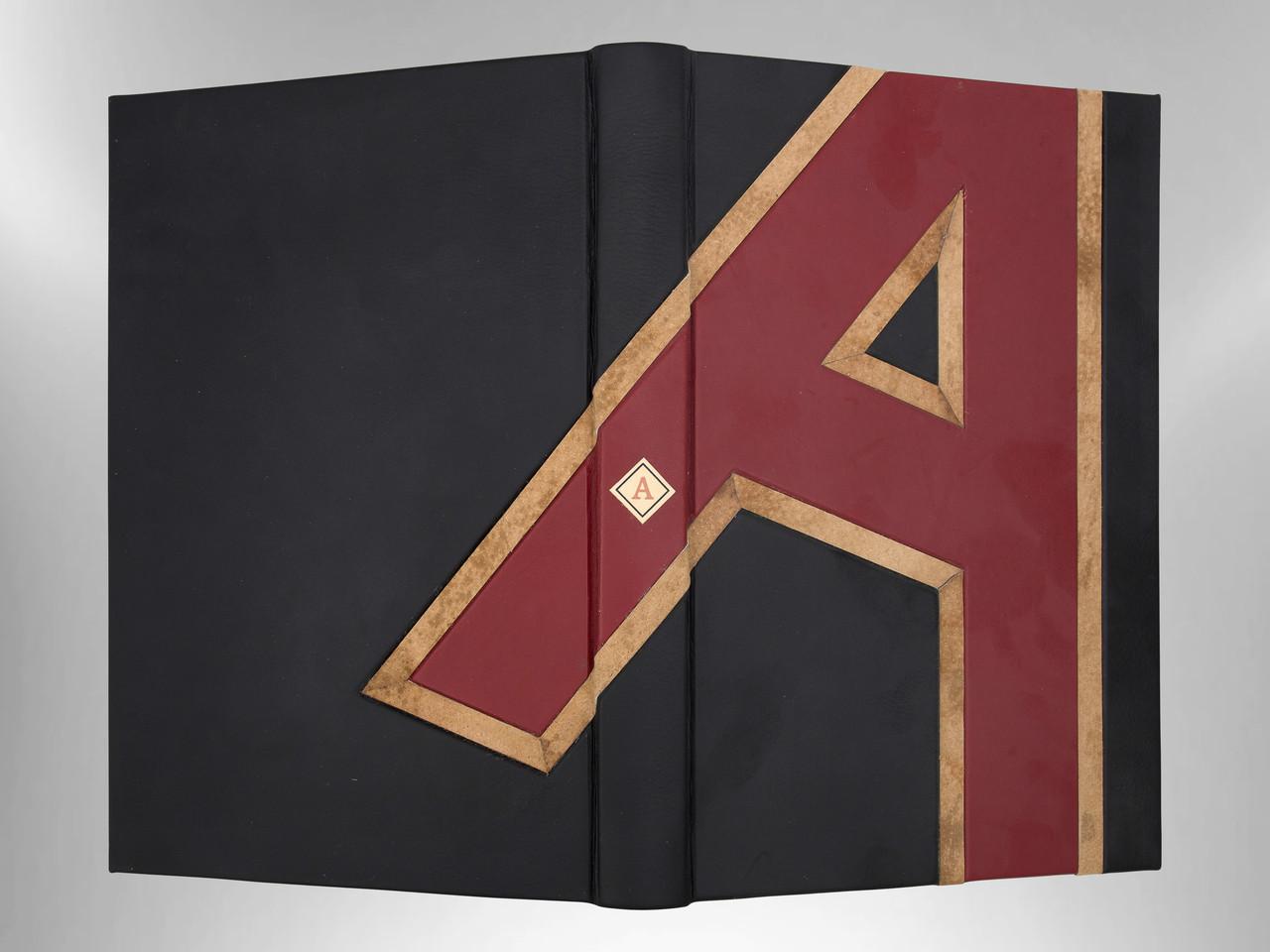 The Scarlet Letter, Unique Fine Binding by Richard Tuttle