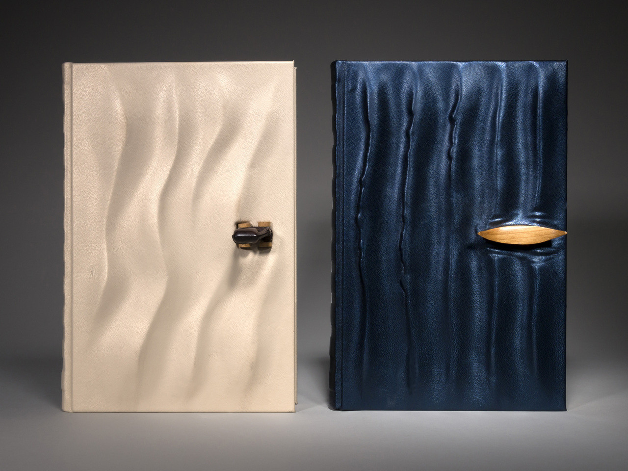 Homer's Iliad & Odyssey, 2 Volumes, Unique Fine Bindings by Richard Tuttle