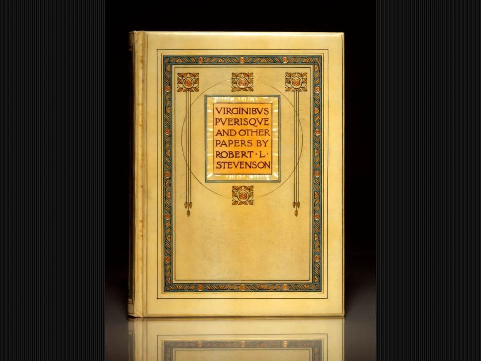 Chivers Signed Binding, 1910, Virginibus Puerisque by Robert Lewis Stevenson