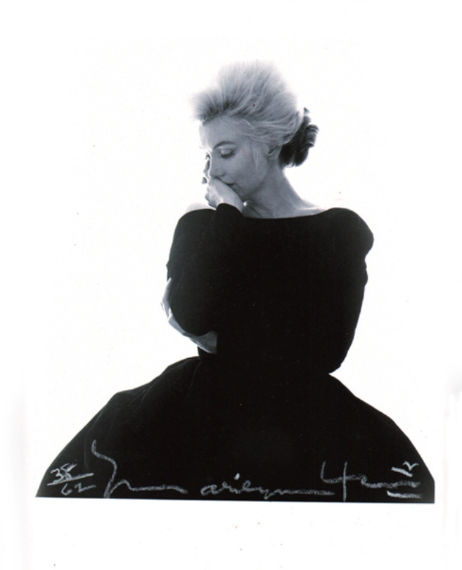 Bert Stern, Marilyn in Vogue, Signed Original Print