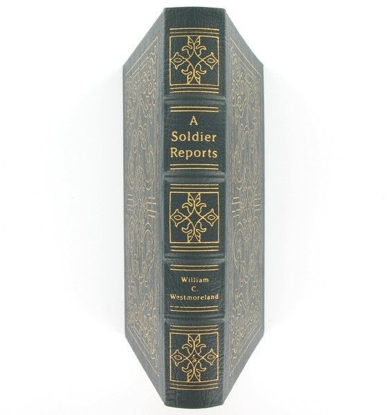 A Soldier Reports by General William Westmoreland, Easton Press