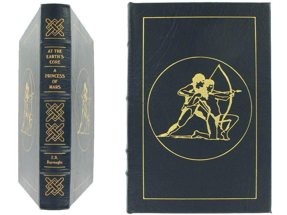 At Earth's Core & A Princess of Mars by Edgar Rice Burroughs, Easton Press