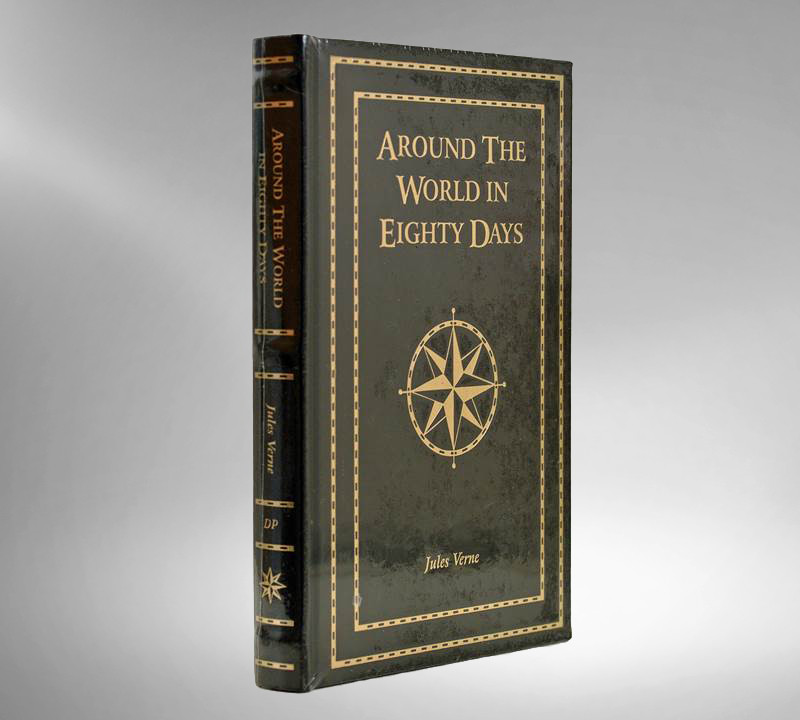 Around the World in Eighty Days by Jules Verne, New in Shrinkwrap