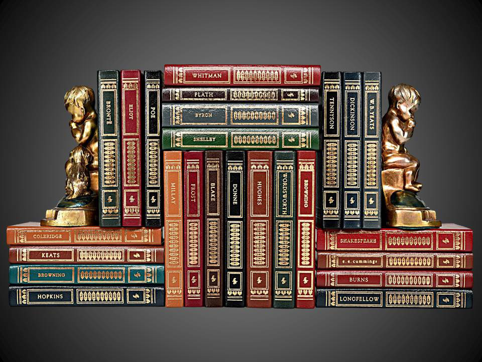 The Library of Great Poetry, Easton Press, 25 Volumes