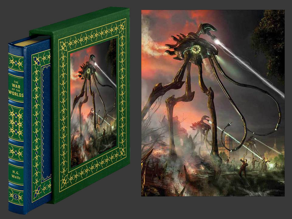 The War of the Worlds by H.G. Wells, Deluxe Signed Edition, New in Shrinkwrap