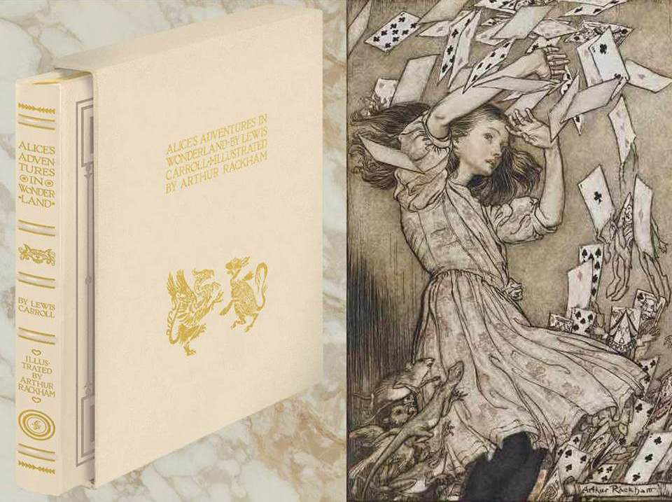 Alice in Wonderland, Illustrated by Arthur Rackham, Deluxe Limited Edition, New