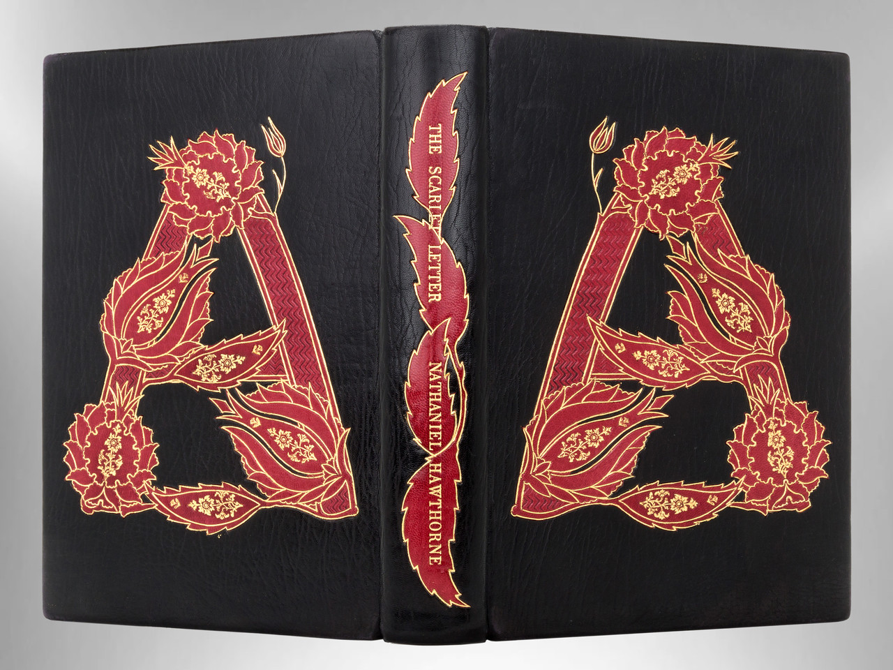 The Scarlet Letter by Nathaniel Hawthorne, Unique Binding by Jamie Kamph
