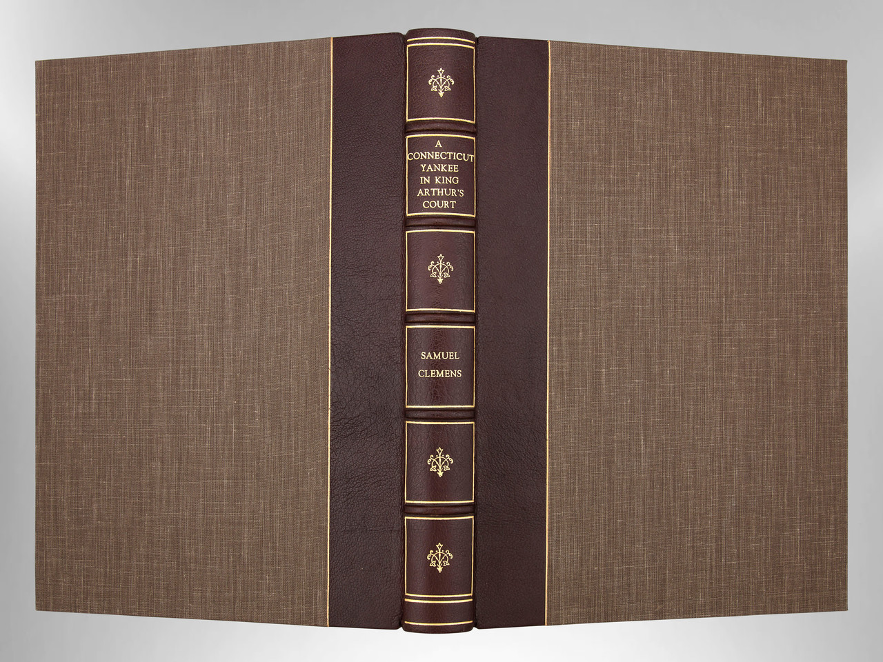 A Connecticut Yankee in King Arthur's Court by Mark Twain, Custom Binding