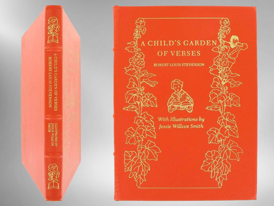 A Child''s Garden of Verses, Illustrated by Jessie Willcox Smith, Easton Press