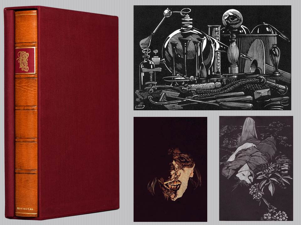 Frankenstein - Illustrated by Barry Moser - Signed Limited Edition and Portfolio