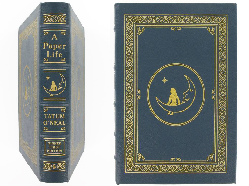 A Paper Life by Tatum O'Neal, Signed First Edition, Easton Press