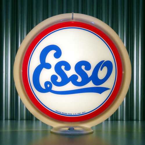 "Esso Gasoline - 13.5"" Gas Pump Globe"