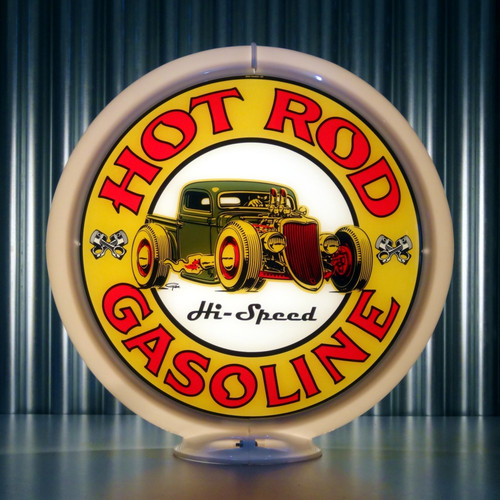"Hot Rod Hi-Speed Gasoline - 13.5"" Ltd Ed Globe"