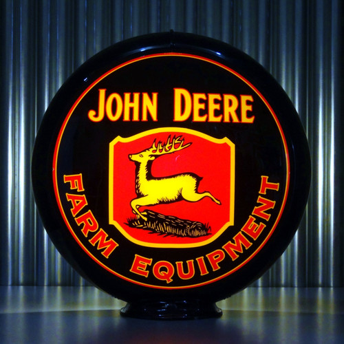John Deere custom globe | Pogo's Garage