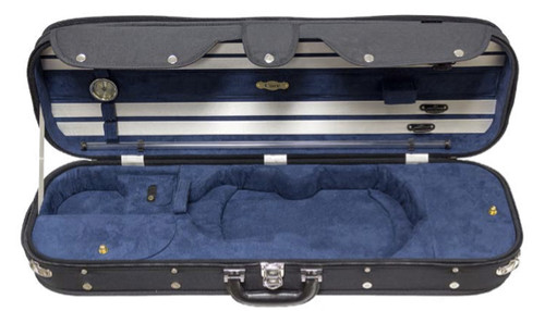CC525 Luxury Suspension Adjustable Violin Case Open