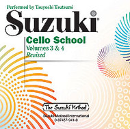 Suzuki Cello CD, Volumes 3 & 4