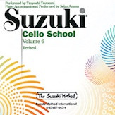 Suzuki Cello CD, Volume 6