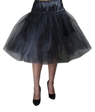 Black Fishnet Petticoat