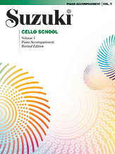 Suzuki Cello School, Piano Accompaniment Volume 7