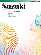 Suzuki Cello School, Cello Part Volume 8