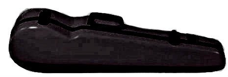 Bold Black Fiberglass Core Suspension Violin Case