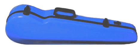 Dark Blue Fiberglass Core Suspension Violin Case