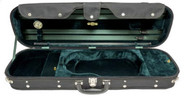 CC500 Oblong Violin Case Green Interior