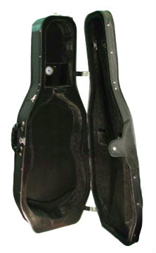 Black Core Hardshell Zippered Cello Case