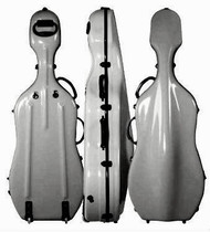 4300 Fiberglass Cello Case Silver