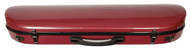 Red Carbon Composite Violin Suspension Case Oblong Contoured