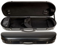 Carbon Composite Viola Suspension Case Oblong Contoured