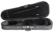 Shaped Core Zippered Cordura Violin Case