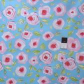 Dena Designs PWDF184 Tiddlywinks Love Blue Fabric By Yard