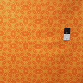 Mark Cesarik PWMC020 Cosmic Burst Solar Panels Orange Fabric By The Yard