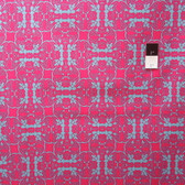 Mark Cesarik PWMC025 Cosmic Burst Venus Trap Pink Cotton Fabric