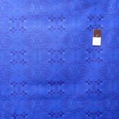 Mark Cesarik PWMC026 Cosmic Burst Light Speed Blue Cotton Fabric