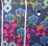 Valori Wells PWVW049 Novella Finnelopy Indigo Cotton Fabric By The Yard