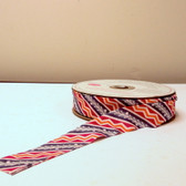 "Anna Maria Horner LouLouThi Foxtrot 1 1/8"" Single Fold Bias Binding 35 Yds"