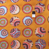 Valori Wells PWVW042 Karavan Bangle Curry Cotton Fabric By The Yard