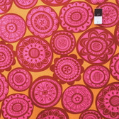 Erin McMorris EM28 Summersault Cartwheel Rose Fabric By The Yard