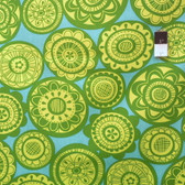 Erin McMorris EM28 Summersault Cartwheel Lime Fabric By The Yard