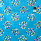 Erin McMorris EM31 Summersault Raindrops Turquoise Fabric By The Yard