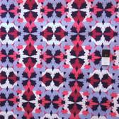 Free Spirit Design Loft PWFS008 Kaleidoscope Mirrored Denim Fabric By Yard
