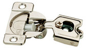 H1530SL-NP 35mm Euro HInge Partial Overlay 105° Nickel Finish 10 Pack