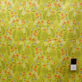 Tula Pink VTP02 Voile Prince Charming Dandelion Olive Cotton Fabric By Yard